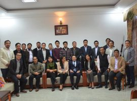 Entrepreneurs meet with Hon'ble Chief Minister